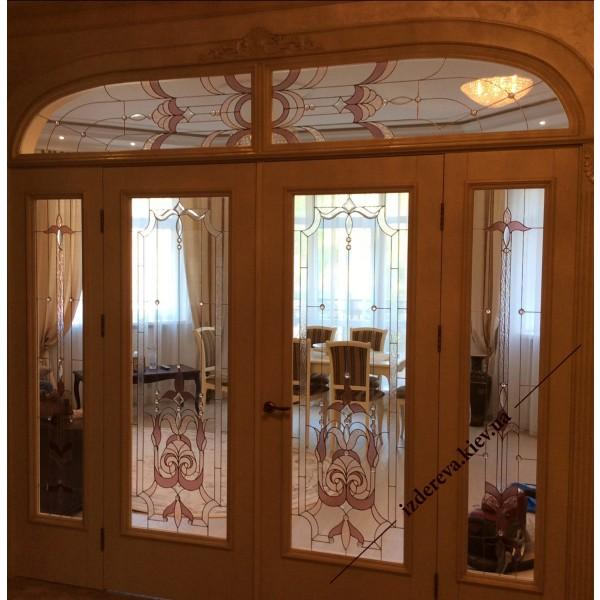 Арочные двери цена Киев