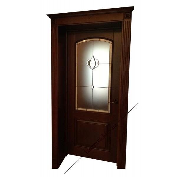 Купить деревянные двери из ольхи у производителя
