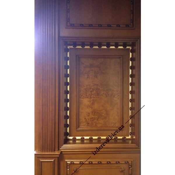 Филёнка фото к двери на заказ из массива