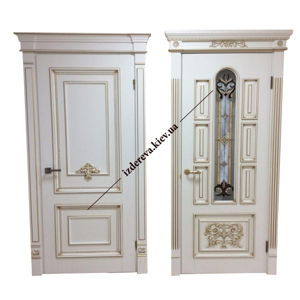 Лучшие деревянные двери на заказ в Киеве недорого