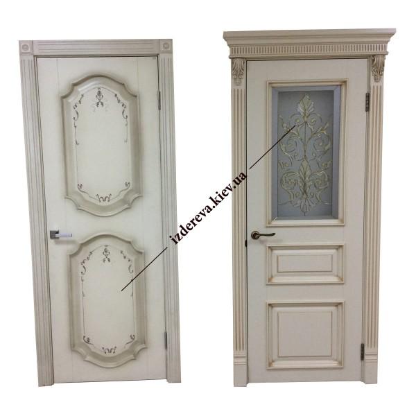 Где купить деревянные двери межкомнатные в Киеве