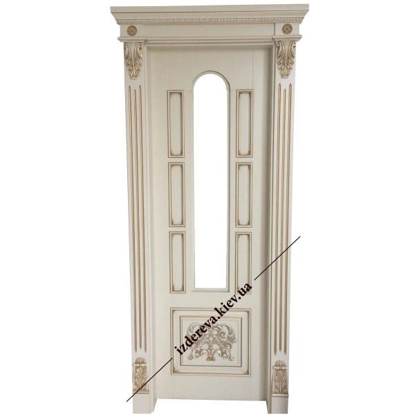 деревянные двери в классическом стиле