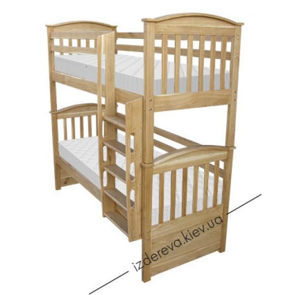 Двухъярусная детская кровать Ретро