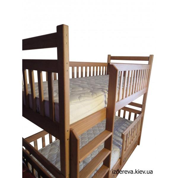 Двухъярусные детские кровати Сказка