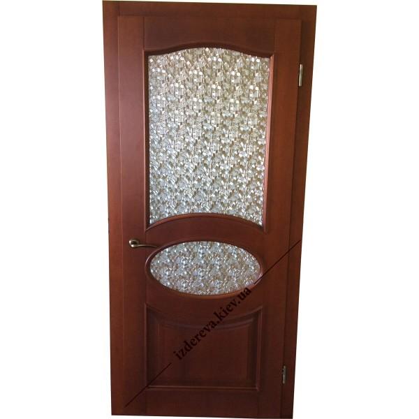 Деревянные межкомнатные двери со стеклом цена