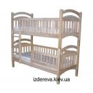Купити двоярусне ліжко в Києві Каріна