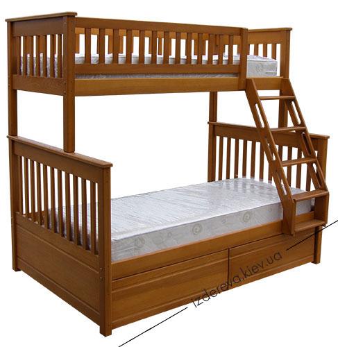детские двухъярусные кровати Жасмин