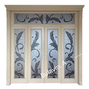 Деревянные двери на заказ в Киеве